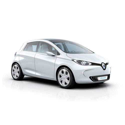 Renault-Zoe electric hybrid